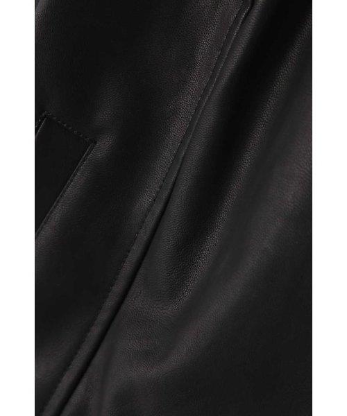 PROPORTION BODY DRESSING(プロポーション ボディドレッシング)/《BLANCHIC》フェイクレザー&スエードブルゾン/1217259800_img02