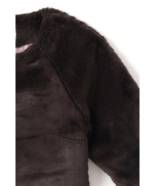 PROPORTION BODY DRESSING(プロポーション ボディドレッシング)/カラーフェイクファーブルゾン/1217255002_img04