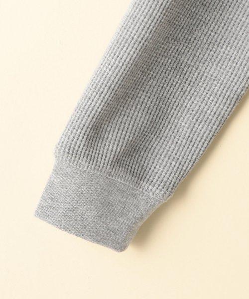 coen(コーエン(キッズ))/【coen キッズ / ジュニア】ワッフルロングスリーブTシャツ(100~150cm)/77206047105_img04