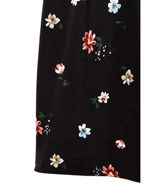 PROPORTION BODY DRESSING(プロポーション ボディドレッシング)/ベロアフラワープリントタイトスカート/1217220509_img05