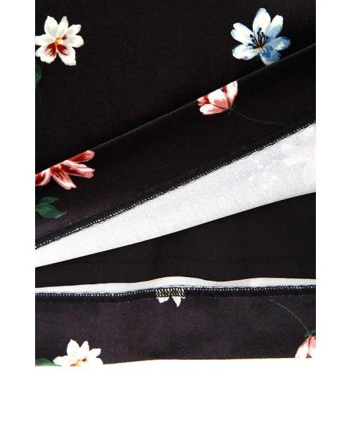PROPORTION BODY DRESSING(プロポーション ボディドレッシング)/ベロアフラワープリントタイトスカート/1217220509_img06