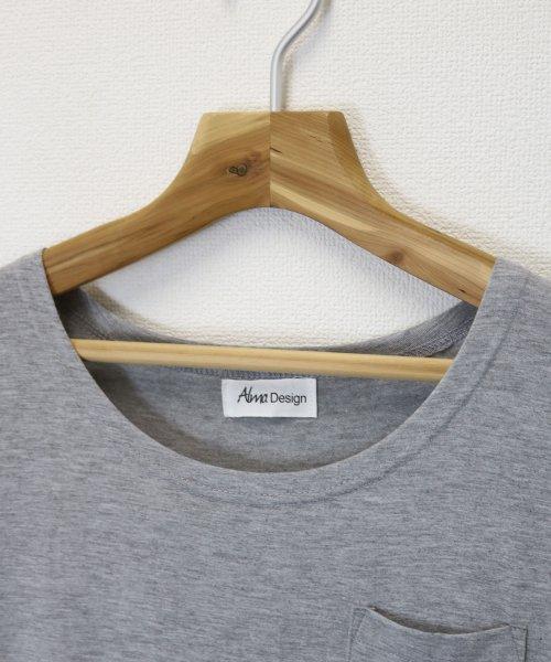 and Me...(アンドミー)/【J-1】Tシャツ ドッキング ワンピース カットソー ロングスカート/1000519_img02