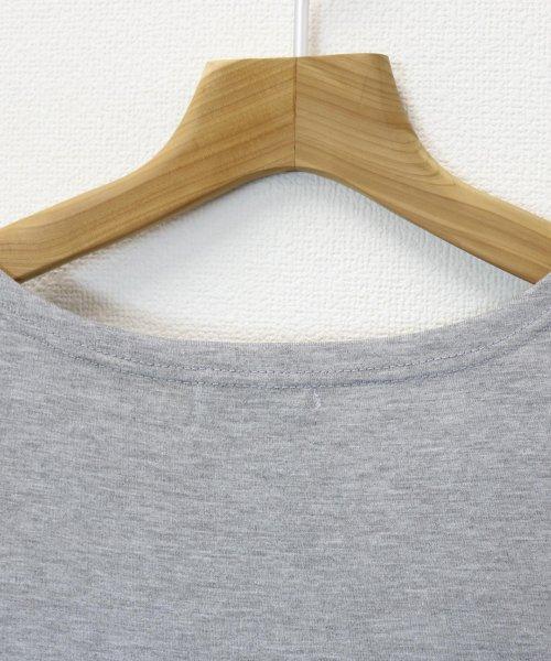 and Me...(アンドミー)/【J-1】Tシャツ ドッキング ワンピース カットソー ロングスカート/1000519_img05