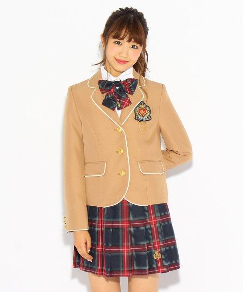 PINK-latte(ピンク ラテ)/【卒服】エンブレム付きパイピングジャケット/99990931941024_img02