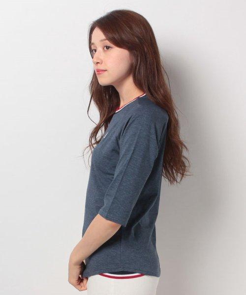 FILA(フィラ)/FILA【LADY'S】T/Cベア天7分袖Tシャツ/447608_img01