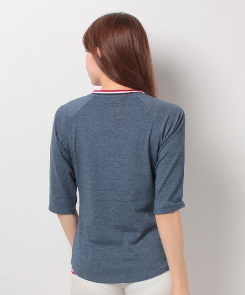 FILA(フィラ)/FILA【LADY'S】T/Cベア天7分袖Tシャツ/447608_img02