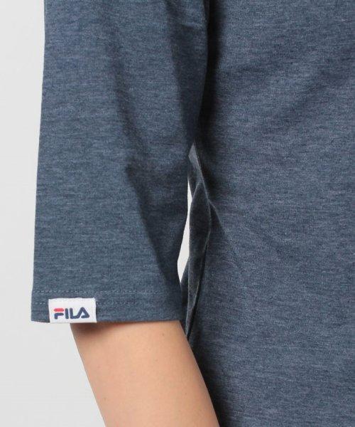 FILA(フィラ)/FILA【LADY'S】T/Cベア天7分袖Tシャツ/447608_img04