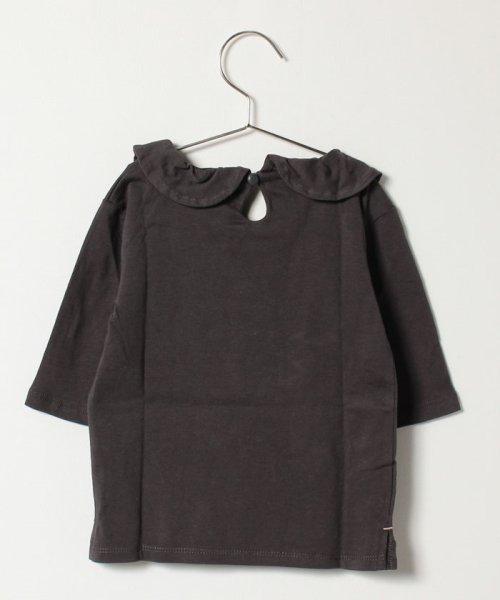 LAGOM(ラーゴム)/フリル衿7分袖カットソー/1205955321411_img01
