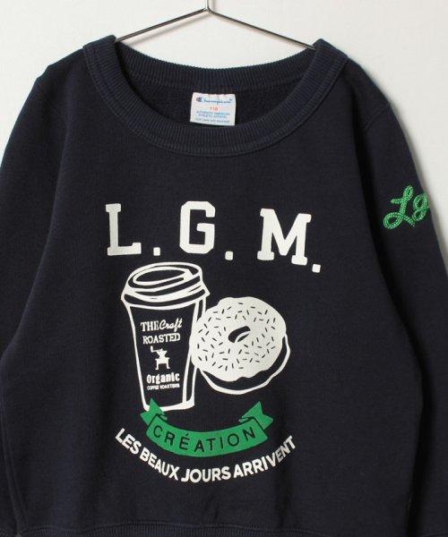 LAGOM(ラーゴム)/【Champion別注】ドーナツプリントSWEAT/1205892881411_img02