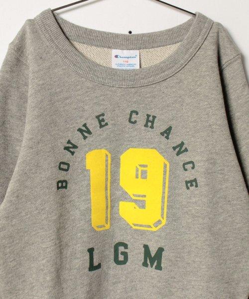 LAGOM(ラーゴム)/【Champion別注】カレッジプリントSWEAT/1205893881411_img02