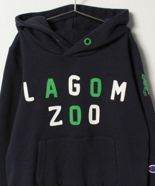 LAGOM(ラーゴム)/【Champion別注】プリントSWEATパーカー/1205894881411_img02