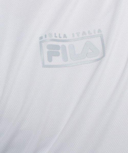 FILA(フィラ)/FILA【MEN'S】PEメッシュレイヤード風ロンT/447320_img12
