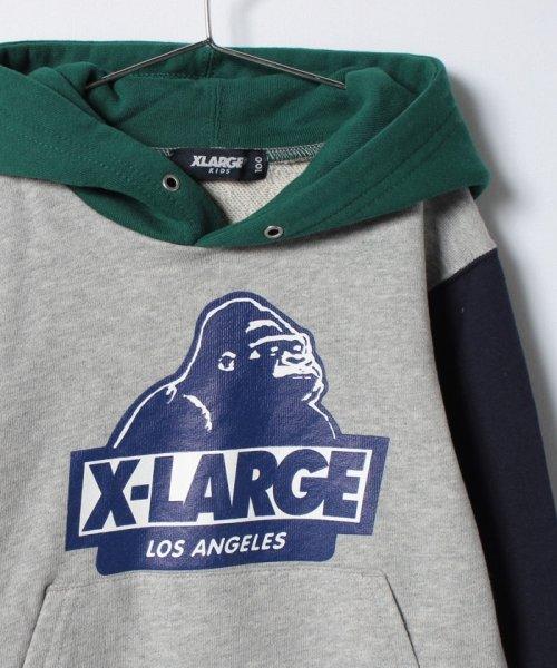 XLARGE KIDS(エクストララージ キッズ)/OG マルチカラーLS プルオーバースウェット/9473205_img02