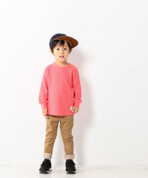 coen(コーエン(キッズ))/【coen キッズ / ジュニア】ワッフルロングスリーブTシャツ(100~150cm)/77206047105_img11