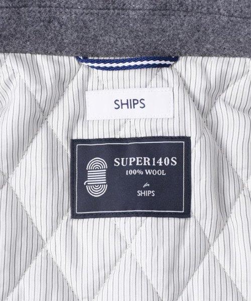 "SHIPS MEN(シップス メン)/SC: ""スーパー140'S"" メルトン シングル Pコート LG/114450061_img04"