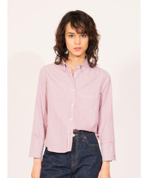 Mila Owen(ミラオーウェン)/トーマスメイソンボタンダウンシャツ/09WFT175114_img12