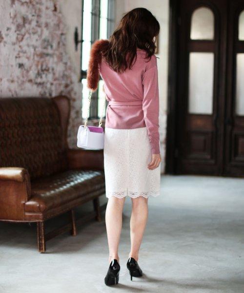 PROPORTION BODY DRESSING(プロポーション ボディドレッシング)/【MAGASEEK/d fashion限定】レースフロッキータイトスカート/1217220912_img05