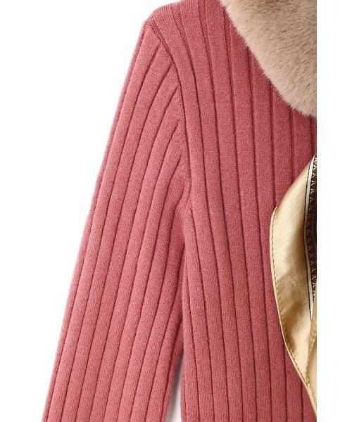 PROPORTION BODY DRESSING(プロポーション ボディドレッシング)/ファースカーフティペット付きリブニット/1217270100_img10