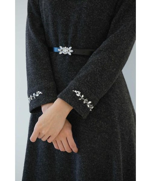 PROPORTION BODY DRESSING(プロポーション ボディドレッシング)/【CanCam 1月号掲載】カフスエンブロイダリーワンピース/1217240102_img03