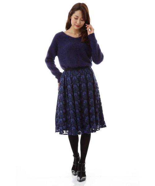 NATURAL BEAUTY(ナチュラル ビューティー)/チュール刺繍スカート/0187220014_img07