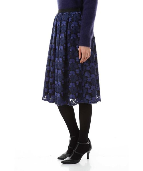 NATURAL BEAUTY(ナチュラル ビューティー)/チュール刺繍スカート/0187220014_img08