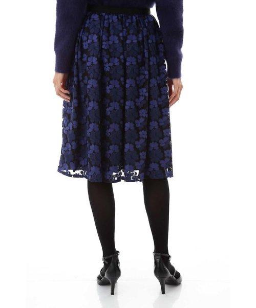 NATURAL BEAUTY(ナチュラル ビューティー)/チュール刺繍スカート/0187220014_img09