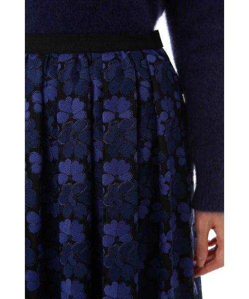 NATURAL BEAUTY(ナチュラル ビューティー)/チュール刺繍スカート/0187220014_img10