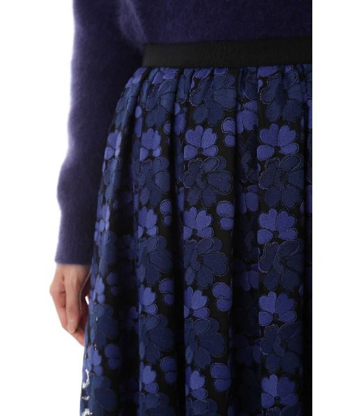 NATURAL BEAUTY(ナチュラル ビューティー)/チュール刺繍スカート/0187220014_img11