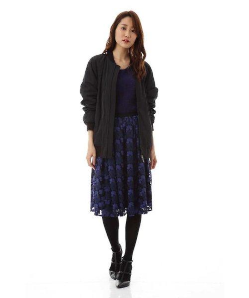 NATURAL BEAUTY(ナチュラル ビューティー)/チュール刺繍スカート/0187220014_img13