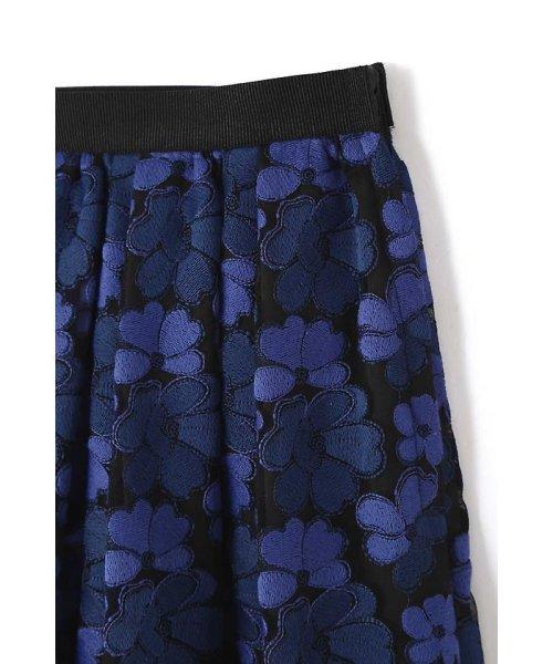 NATURAL BEAUTY(ナチュラル ビューティー)/チュール刺繍スカート/0187220014_img14