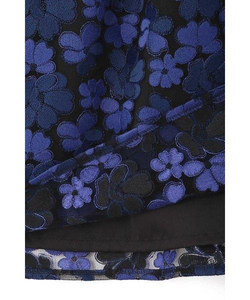 NATURAL BEAUTY(ナチュラル ビューティー)/チュール刺繍スカート/0187220014_img16