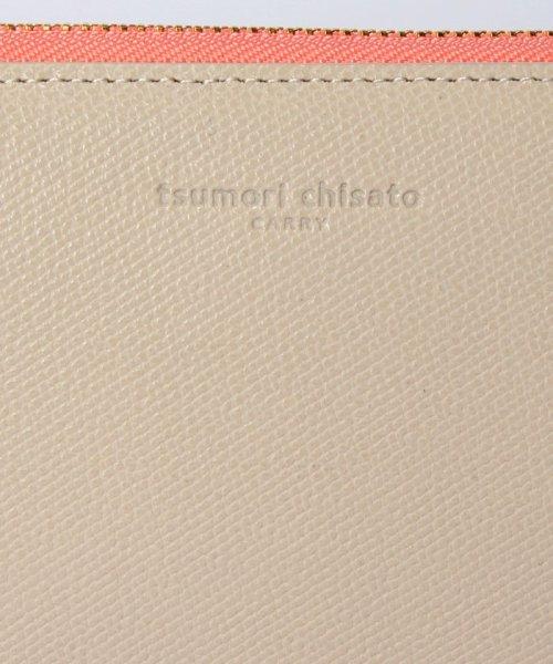 tsumori chisato CARRY(ツモリチサトキャリー)/トリロジー ラウンドジップウォレット/57947_img04
