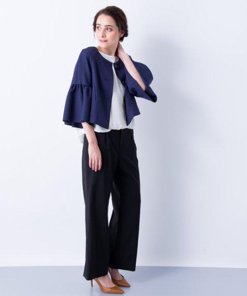 LANVIN en Bleu(ランバン オン ブルー)/【セットアップ対応商品】ボリュームスリーブジャケット/3786206_img06