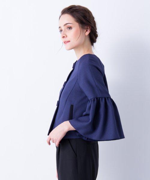LANVIN en Bleu(ランバン オン ブルー)/【セットアップ対応商品】ボリュームスリーブジャケット/3786206_img08