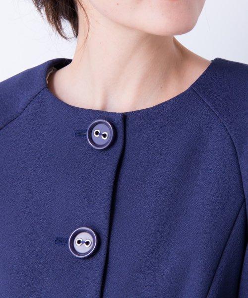LANVIN en Bleu(ランバン オン ブルー)/【セットアップ対応商品】ボリュームスリーブジャケット/3786206_img10