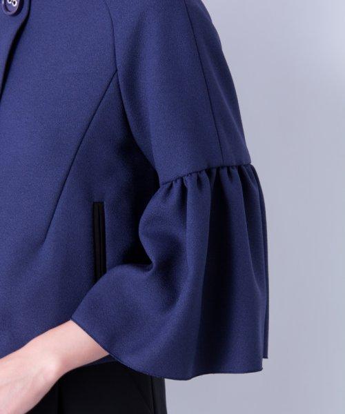 LANVIN en Bleu(ランバン オン ブルー)/【セットアップ対応商品】ボリュームスリーブジャケット/3786206_img11