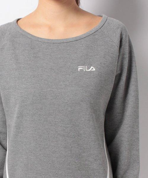 FILA(フィラ)/【セットアップ対応商品】FILA【LADY'S】スウェットボートネック/447604_img03