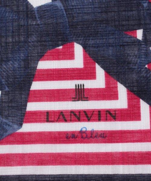 LANVIN en Bleu(ランバンオンブルー)/プリントハンカチ 17301014/3798008_img01