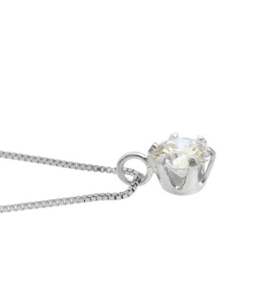 JEWELRY SELECTION(ジュエリーセレクション)/天然ダイヤモンド 0.3ct VSクラス 6本爪ネックレス 鑑定書付 ベネチアン40cm/NSII03CTVSBN40PT_img02