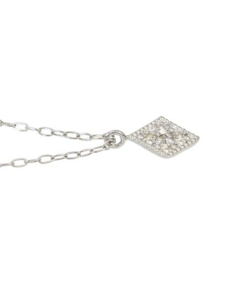 JEWELRY SELECTION(ジュエリーセレクション)/天然ダイヤモンド 5石 プラチナ ネックレス 菱形/NSUZ12204005CTA40PT_img05