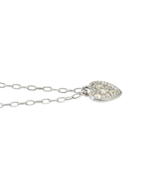 JEWELRY SELECTION(ジュエリーセレクション)/天然ダイヤモンド 6石 プラチナ ネックレス ハート/NSUZ12205005CTA40PT_img01