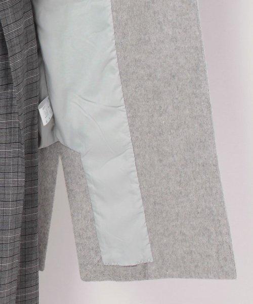 ELLE(エル)/【TVドラマ着用】ノーカラーシャギーコート/JCULA13280_img07