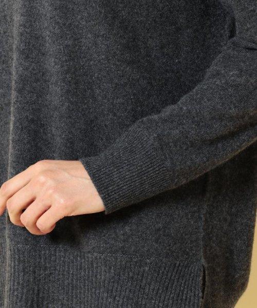 JIYU-KU (自由区)/【亜希さん着用】ピュアカシミヤミルド Vネックプルオーバー (検索番号T21)/KRWMHW0406_img05