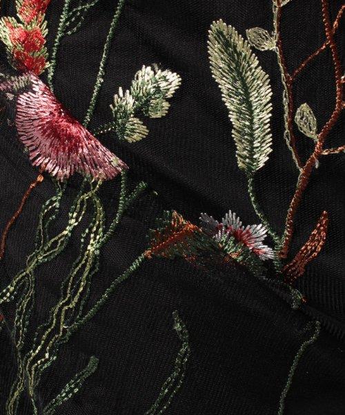 Bou Jeloud(ブージュルード)/カラフルフラワー刺繍チュールスカート/673029_img20