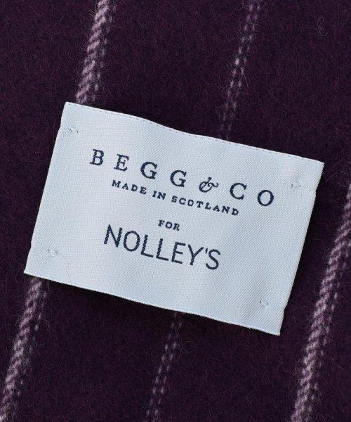 NOLLEY'S goodman(ノーリーズグッドマン)/【BEGG&CO /ベグアンドコー】別注チョークストライプマフラー/7-0721-6-64-301_img04