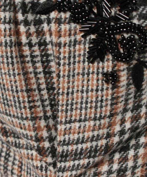 Apuweiser-riche(アプワイザー リッシェ)/【andGIRL 11月号掲載】ポケット刺繍チェックタイトスカート/27432820_img09