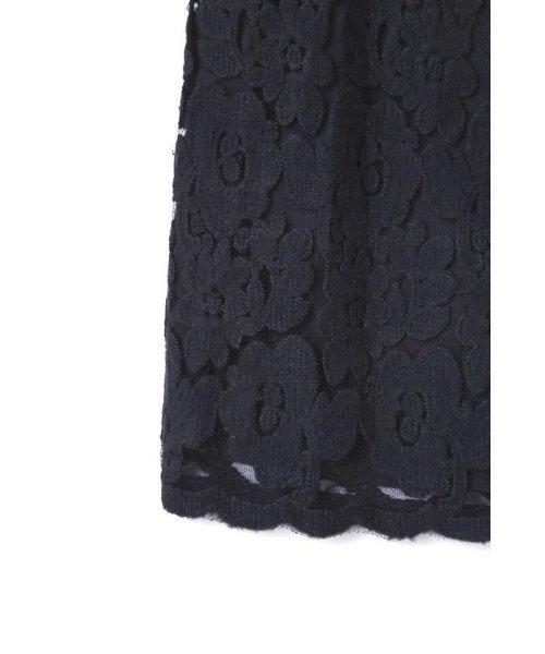 PROPORTION BODY DRESSING(プロポーション ボディドレッシング)/Newブラッシュレースタイトスカート/1217220513_img08