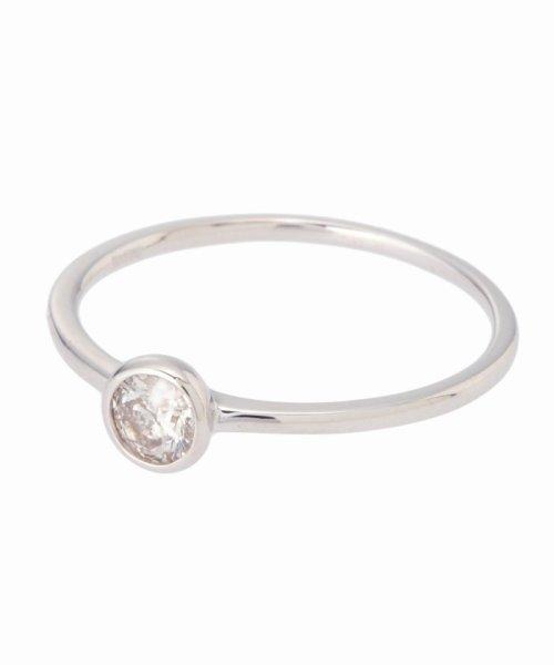 DECOUVERTE(デクーヴェルト)/18KWG 0.2ct ダイヤモンド Fリング/17111895502730_img01