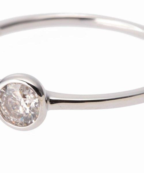 DECOUVERTE(デクーヴェルト)/18KWG 0.2ct ダイヤモンド Fリング/17111895502730_img03