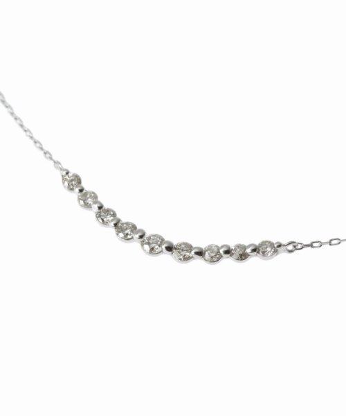 DECOUVERTE(デクーヴェルト)/18KWG 0.2ct ダイヤモンド ネックレス/17110895503630_img04